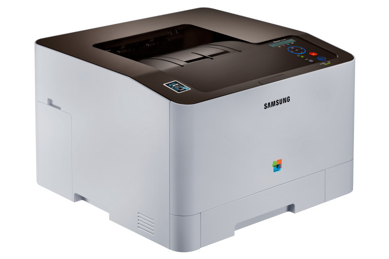 *Samsung SL-C1810W Wireless and NFC Colour Laser Printer