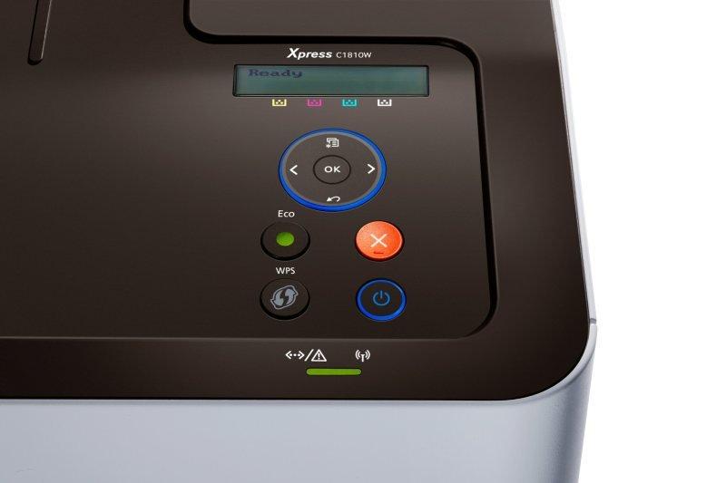 Samsung SL-C1810W Wireless and NFC Colour Laser Printer