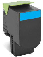 Lexmark 802XC Extra High Yield Cyan Toner Cartridge
