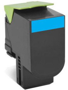 Lexmark 802XC Extra High Yield Cyan Toner Cartridge