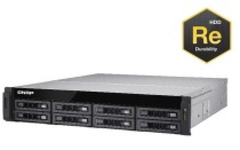 QNAP TS-EC880U-RP 32TB (8 x 4TB WD RE) 8 Bay 2U Rackmount NAS
