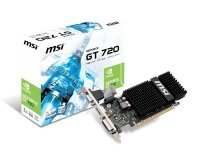 MSI GT 720 1GB DDR3 VGA DVI HDMI PCI-E Graphics Card