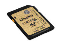 128GB Kingston UHS-I Class 10 SDXC Memory Card