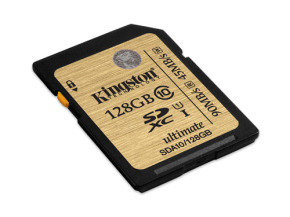 Kingston Professional 128GB SDXC Memory Card