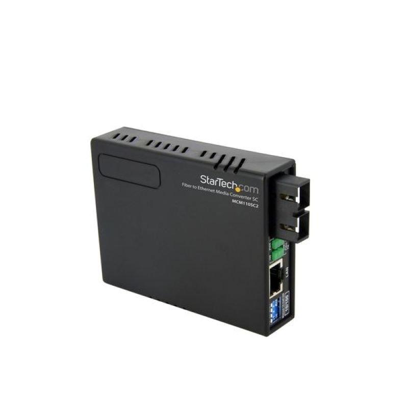 StarTech 10/100 Ethernet to Multi Mode Fiber Media Converter SC