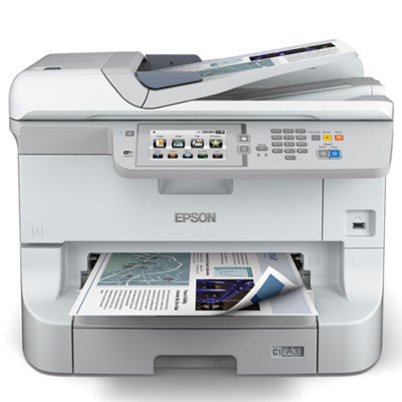 Epson Workforce WF-8510DWF A3 Colour Inkjet Printer