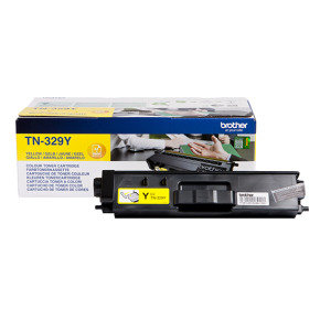 Brother TN329Y Yellow Toner Cartridge