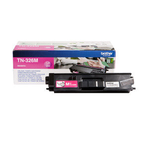 Brother TN-326M Magenta Toner Cartridge - 3,500 Pages