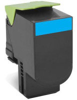 Lexmark 802XCE Extra High Yield Cyan Toner Cartridge