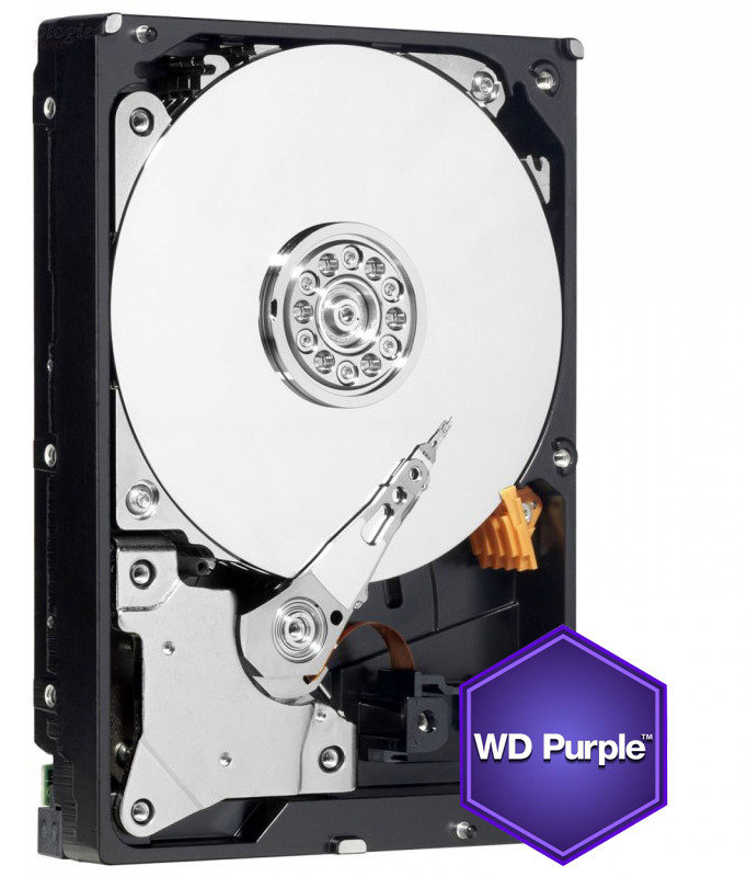 "WD Purple 4TB 3.5"" SATA Surveillance Hard Drive"
