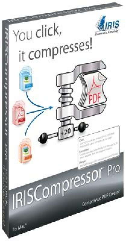 Iris Compressor Pro Mac - Electronic Software Download