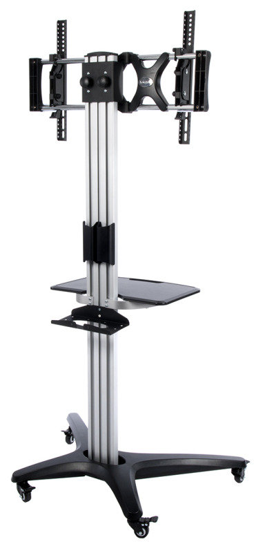 """Xenta Deluxe TV Trolley Fits TVs 32"""" to 55"""""""