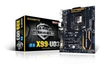 Gigabyte GA-X99-UD3 Socket LGA 2011-3 7.1 channel Audio ATX Motherboard