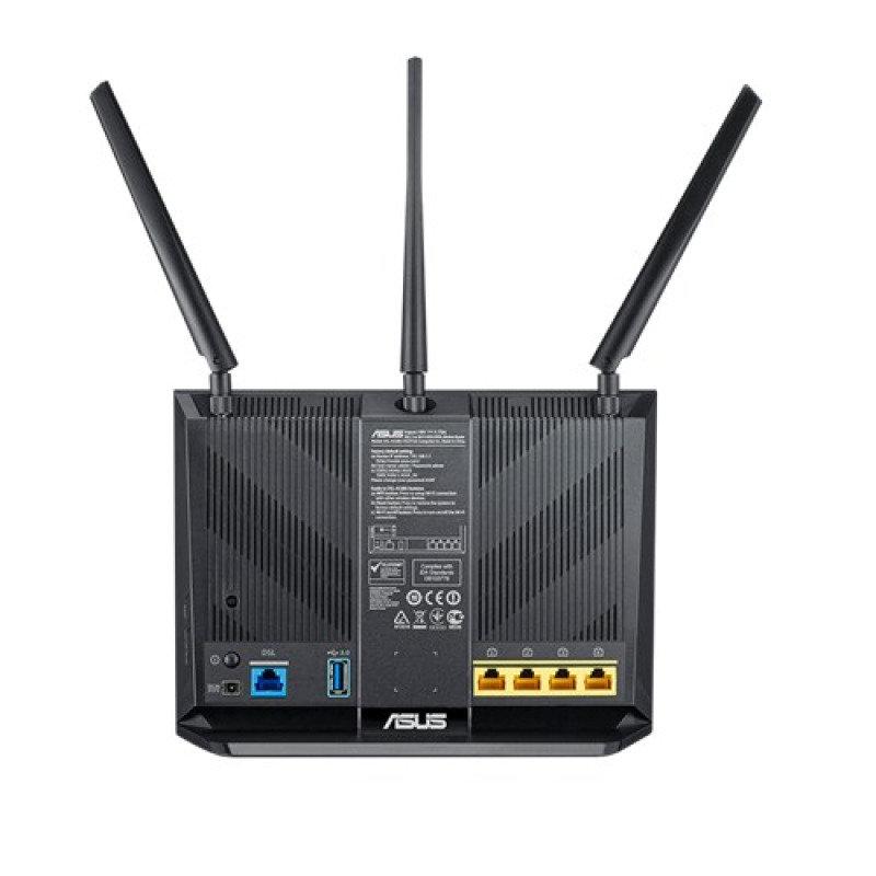 Asus DSL-AC68U Dual-Band Wireless AC1900 Gigabit ADSL/VDSL Modem Router