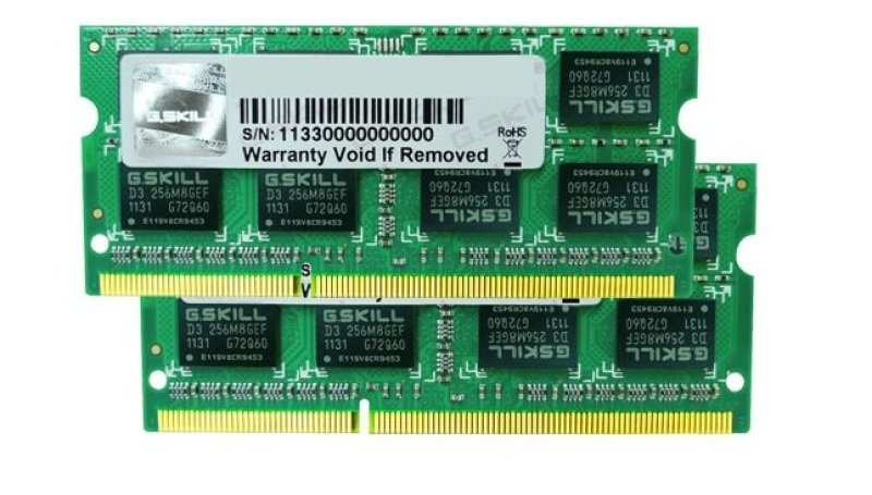 Image of G.Skill 16GB (8GBx2) DDR3 1600MHz SO-DIMM Memory