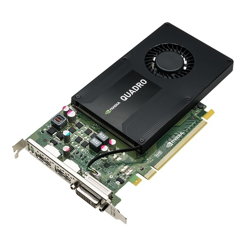 PNY NVIDIA Quadro K2200 4GB GDDR5 Dual DVI DisplayPort PCI-E Graphics card