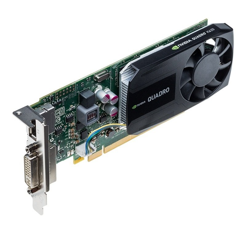 PNY NVIDIA Quadro K620 2GB DDR3 DVI DisplayPort PCI-E Graphics card