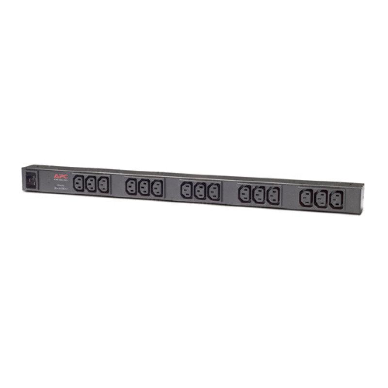 APC AP9572 Rack PDU, Basic, Zero U, 16A, 208/230V, (15) C13