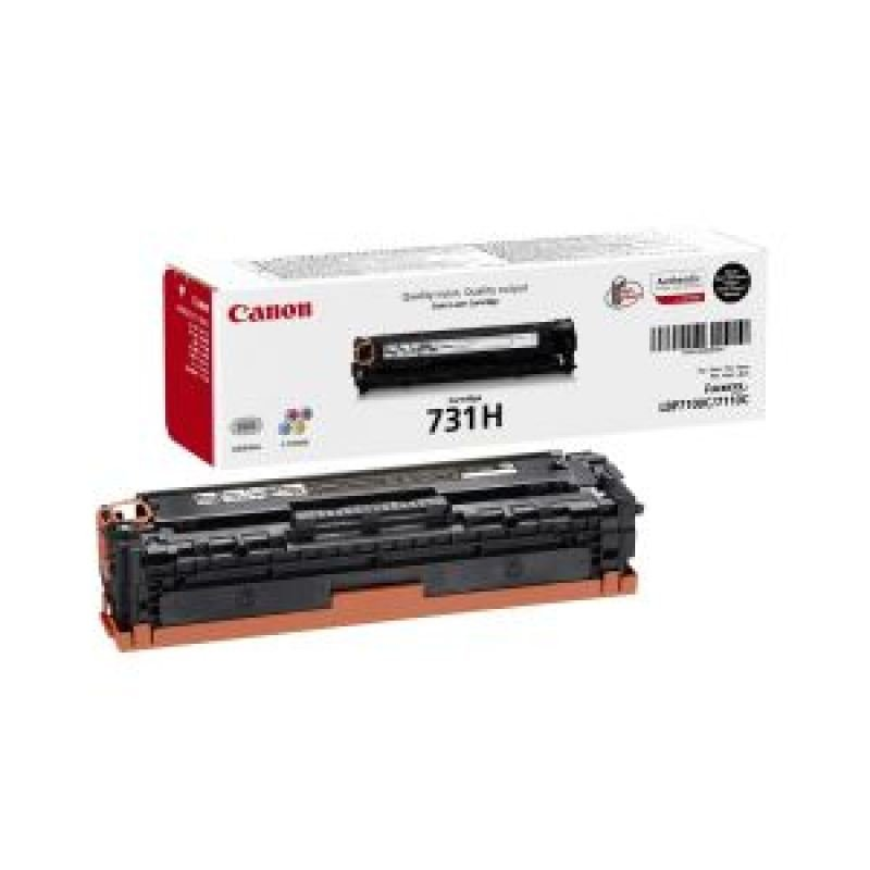 Canon 731H Black Toner Cartridge