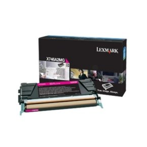Lexmark X746 X748 Magenta toner Cartridge
