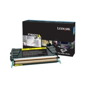 Lexmark X746 X748 Yellow Toner Cartridge