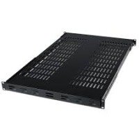 StarTech.com 1U Adjustable Mount Depth Vented Rack Mount Shelf- 175lbs/80kg