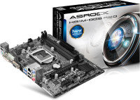 Asrock H81M-DGS R2.0 Socket 1150 VGA DVI 5.1 CH HD Audio Micro ATX Motherboard