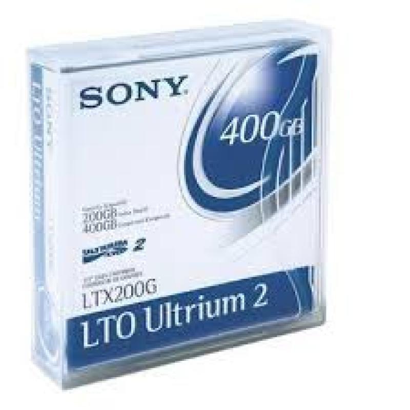 Sony LTO Ultrium 2 200-400GB Backup Media Tape