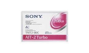 Sony T-AIT-2 80-208GB Backup Media Tape
