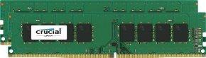 Crucial 16GB Kit (8GBx2) DDR4 2133 MT/s (PC4-17000) CL15 DR x8 Unbuffered DIMM 288pin