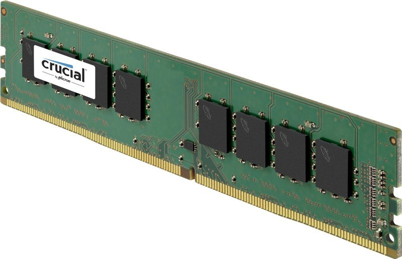 Crucial 16GB Kit (8GBx2) DDR4 2133 MT/s (PC4-17000) CL15 DR x8 Unbuffered DIMM 288pin