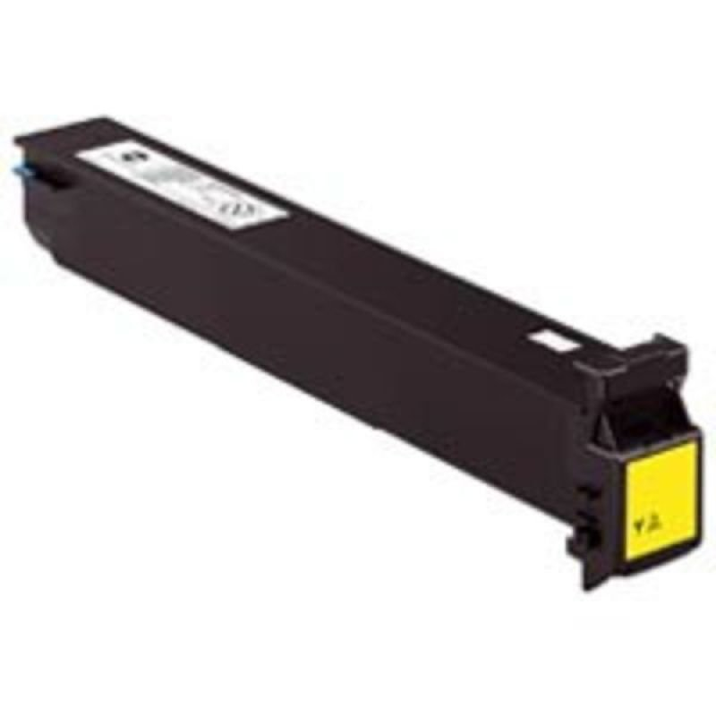 Konica Minolta Yellow Laser Toner Cartridge 20,000 Pages