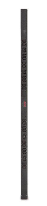 APC Basic Rack PDU Zero U Power distribution strip (rack-mountable ) AC 230 V 24 Output Connectors