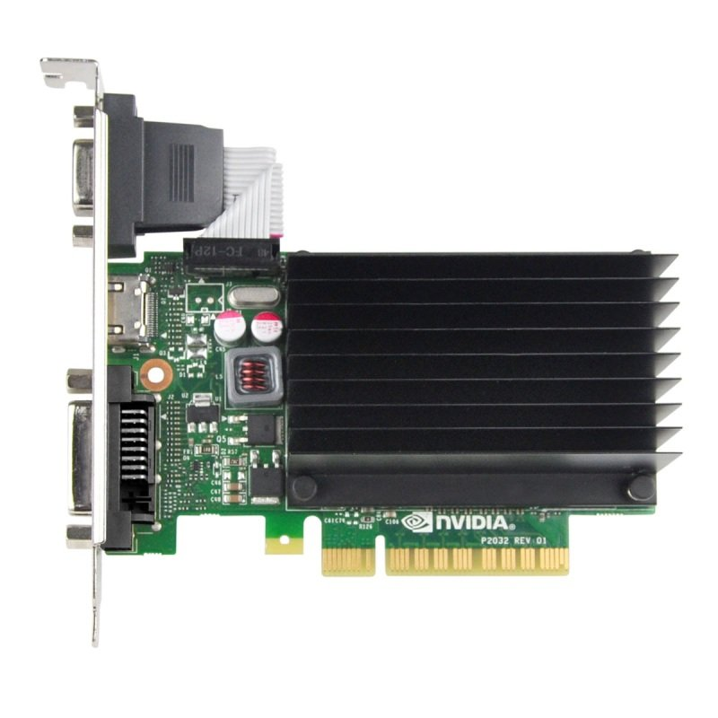 EVGA GeForce GT 730 2GB DDR3 VGA DVI-D HDMI PCI-E Graphics Card