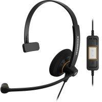 Sennheiser SC30 USB Monaural Microso Headset - Black