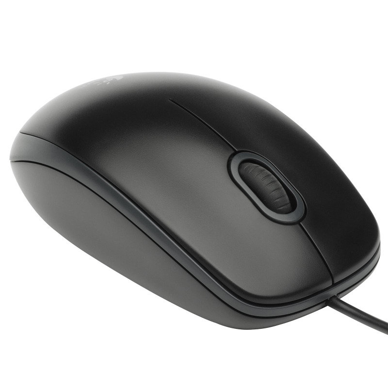 Logitech B100 Optical Mouse Black