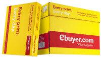 Ebuyer.com Everyday 80gsm A4 Printer Paper - 2500 Sheets