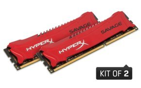 8GB (4GB x2 Kit) 2400MHz DDR3 Non-ECC CL11 DIMM XMP HyperX Savage