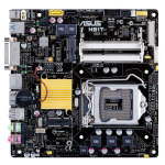 Asus H81T socket LGA1150 DVI HDMI 8-Channel HD Audio Thin Mini ITX Motherboard