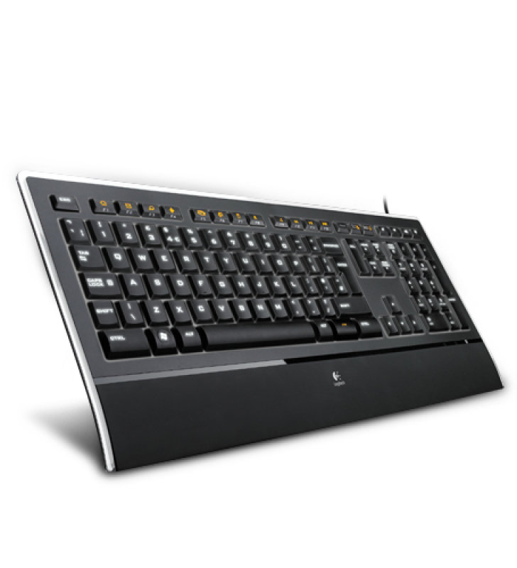 Logitech KB740 Illuminated UK Layout Keyboard