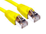 Cables Direct - Patch cable - RJ-45 (M) - RJ-45 (M) - 3 m - STP - ( CAT 6 ) - snagless booted - yellow