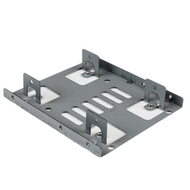 for up to 2x 2.5-inch drives per 3.5-inch bay Metal internal 2.5-inch SSD//HDD mounting kit