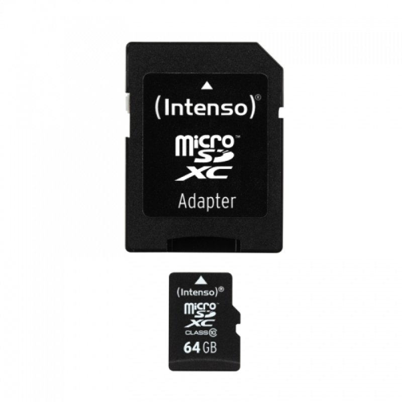 64GB Intenso Micro SDXC Class 10 Memory Card