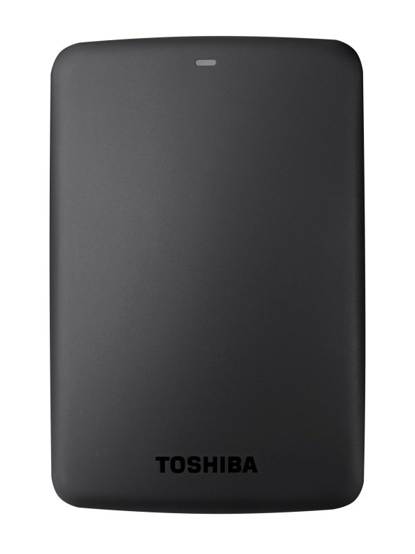 Toshiba Canvio Basics 2TB Portable External Hard Drive - Black