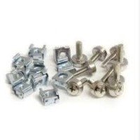 StarTech.com 50 Pkg M5 Mounting Screws & Cage Nuts for Server Rack Cabinet