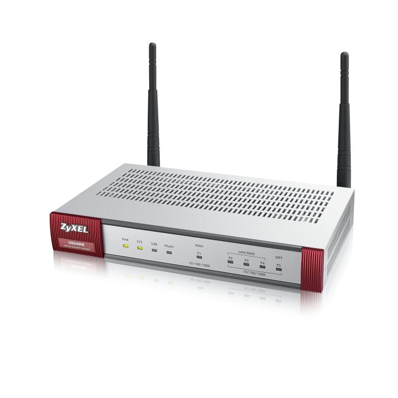ZyXEL USG40W  Wireless Firewall Security Device