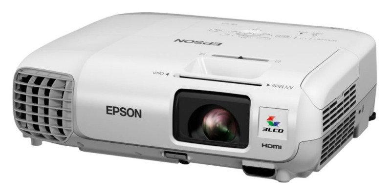 Image of Epson EB-W28 Portable 3LCD WXGA Projector - 3000 lms