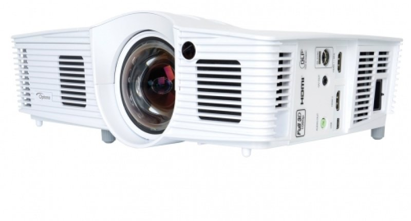 Image of Optoma GT1070x 2600 Lumens Full HD 1080p 3D Short Throw Projector