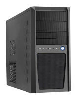 CIT Imp MicroATX Black Interior Case with 500W PSU