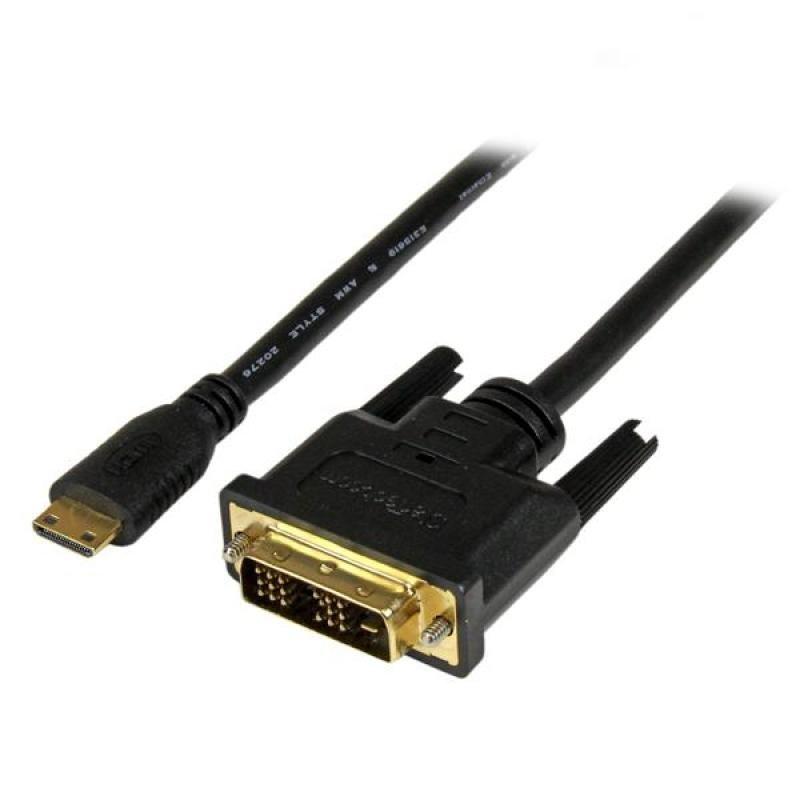 StarTech.com (3m) Mini HDMI to DVI-D Cable - M/M